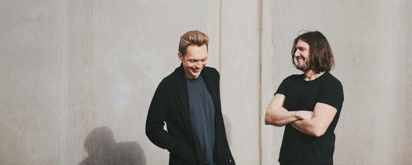 Minimalists Joshua Fields Millburn and Ryan Nicodemus
