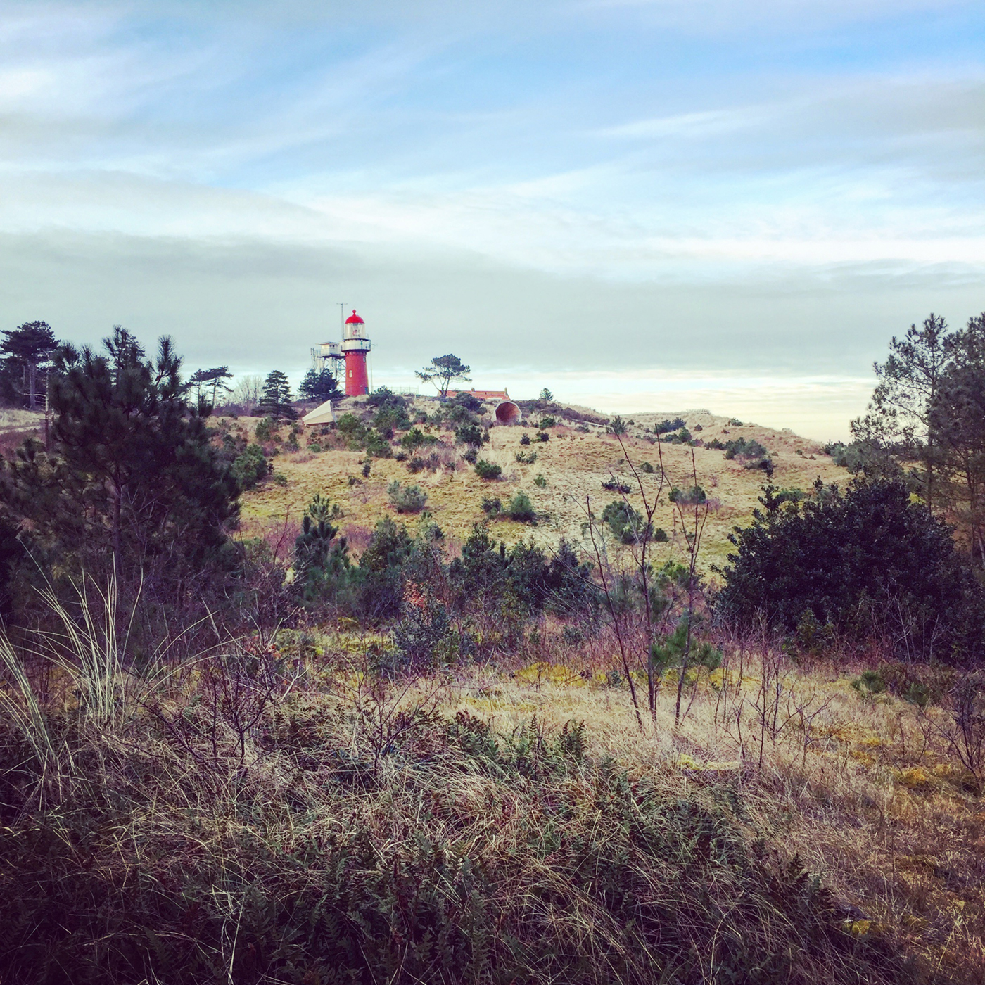 The light house of Vlieland