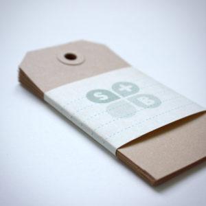 kraft label