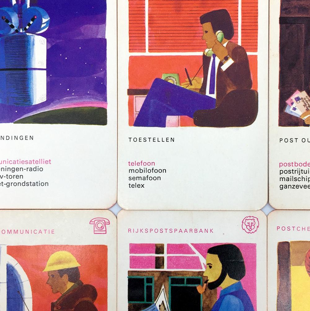 PTT quartet game illustrations