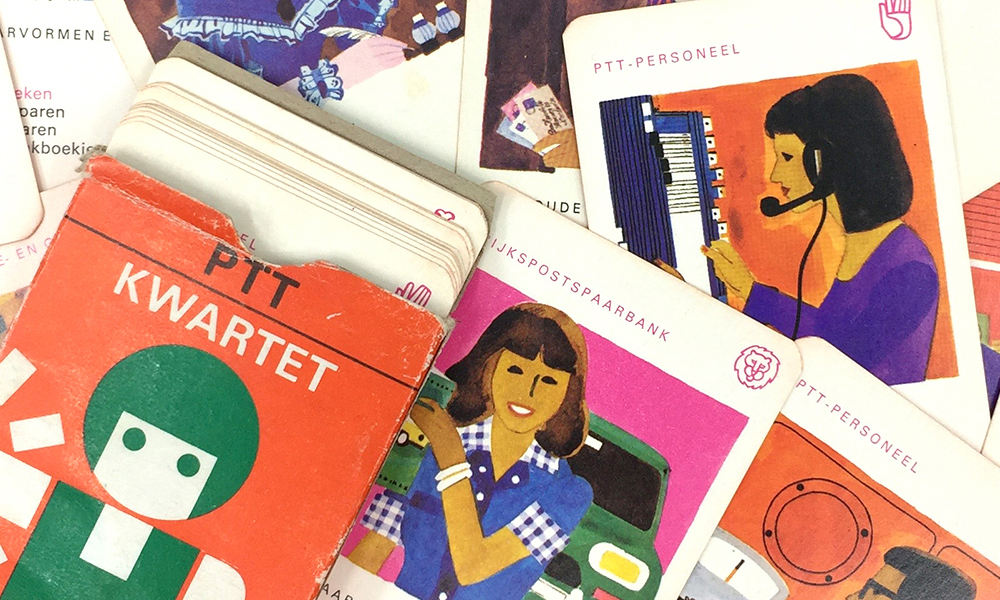 PTT's vintage illustration inspiration