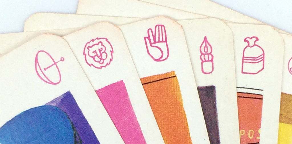 PTT quartet game illustrations, the icons