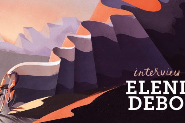 Living the dream: Illustrator Eleni Debo works from the Italian Alps