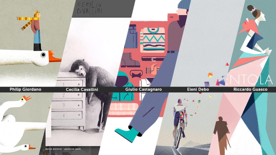 Piacere per gli occhi: Italian illustrators I love